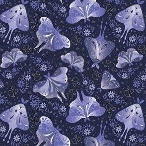 Swedish Flower Hens- Tea Towel Calendar