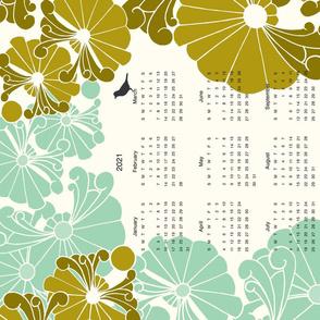 Calendar Tea Towel Challenge
