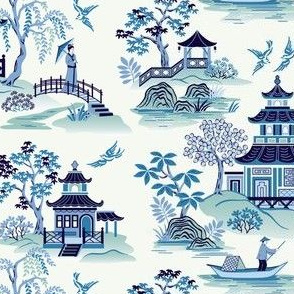 Chinoiserie Blue small scale