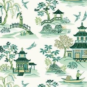 Chinoiserie Green small scale