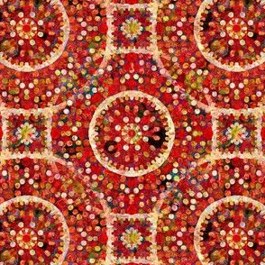 The Charm of Red: Alison's Circles