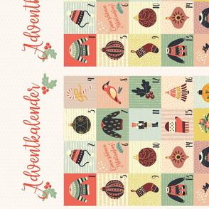 Advent Calendar Wallpaper - German