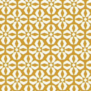 Geometric Wallflower   Maize