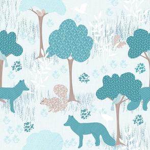 whismical forest