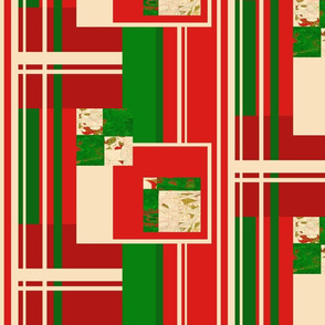 Christmas Festival: Mod Stripes and Rectangles
