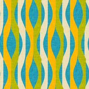 Mod Stripes Blue