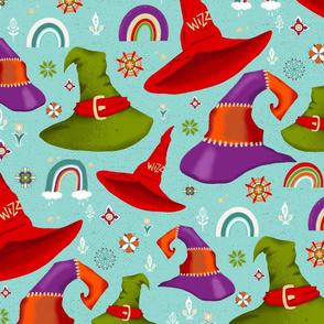 magic hats and rainbows - large