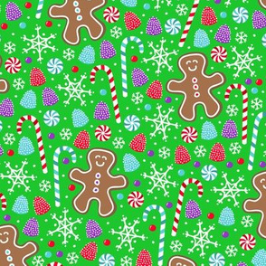 Jolly Gingerbread (Green)