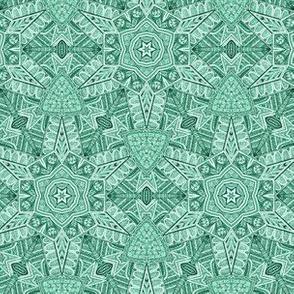 Ornate Star//Green