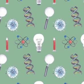 Green Science Pattern