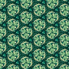 Petrie dish - green