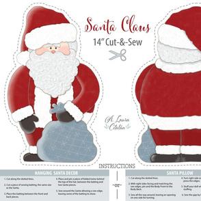 Santa Claus_Sew & Cut