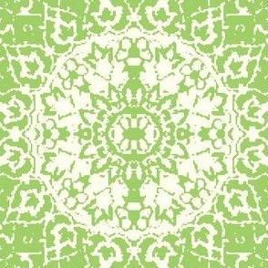Persian-white green xl