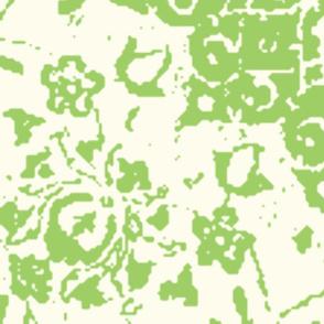 Persian-white green xxl