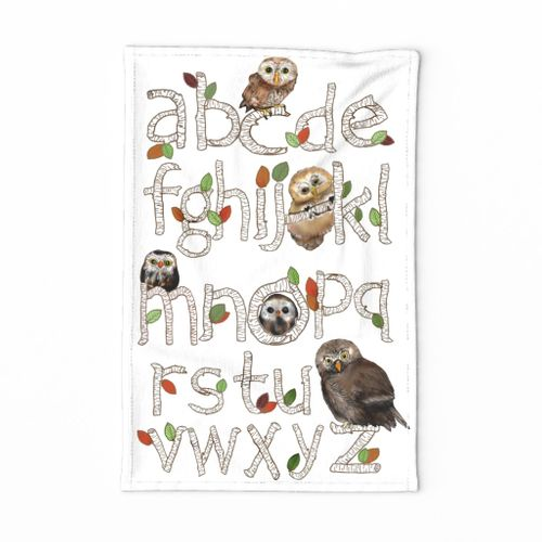 Wise Owls of Alphabet