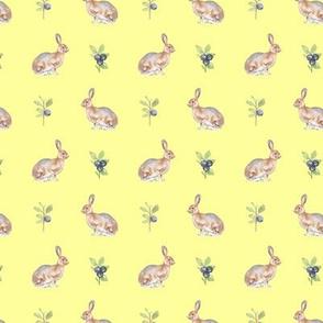 Woodland Hare Yellow
