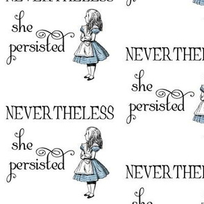 Alice in Wonderland PERSISTED