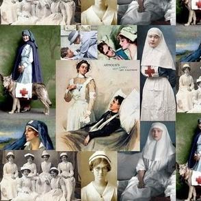vintage nurse heroes