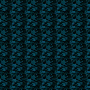 Small Navy Blue Naval Marine Camo Camouflage Pattern