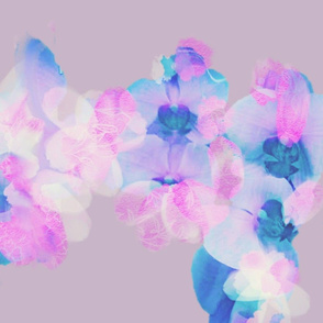 Magical, colorful floral