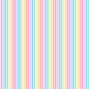 Candy Stripe Gradient narrow vertical