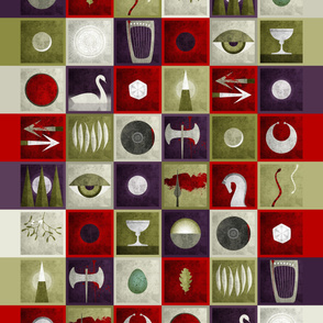Bloodstone Oracle Quilt