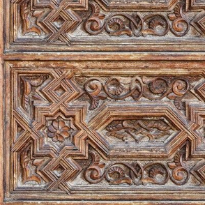 woodwork from a mosque