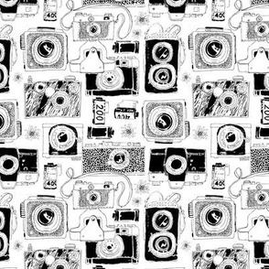 Retro film camera (smaller version)