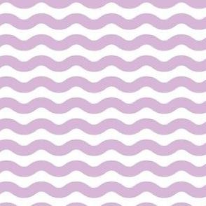 Wavy Stripe Lilac