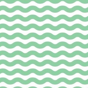 Wavy Stripe Mint