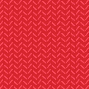 Knitwear pattern red