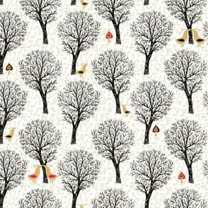 Love lyrics for tiny forest birds