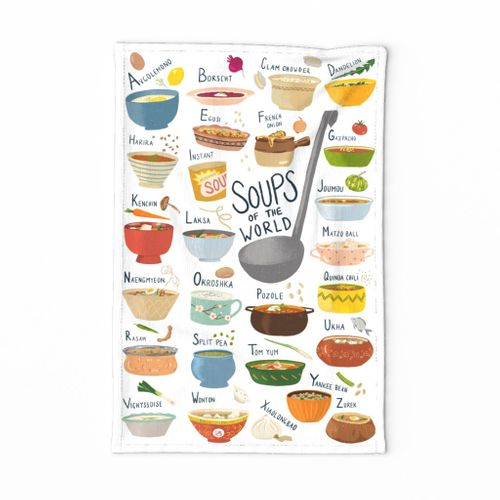 Soups of the World A-Z