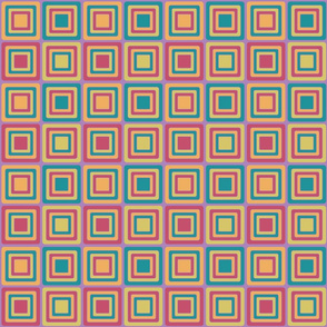 Sixties Color Cubes