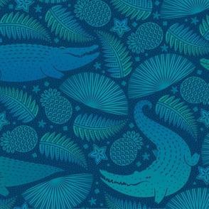 Gators camo blue