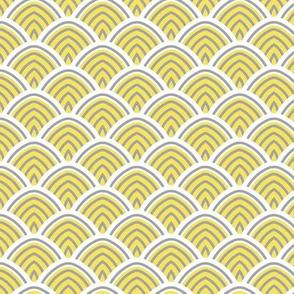 Pantone 2021 dragon scales (Illuminating yellow)