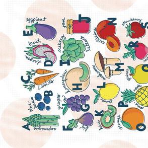 Eat the ABCs Fruit and Veggies