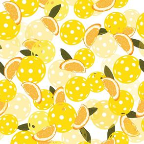 Pickleball and Oranges--LG