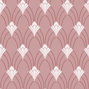 Art Nouveau_ dusky pink