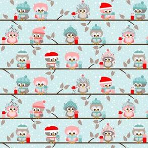 Winter owls - small