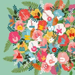 Positive Words Bouquet A-Z