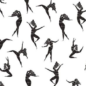 Dance Girl pattern 003
