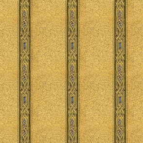forties wallpaper with blue jewels