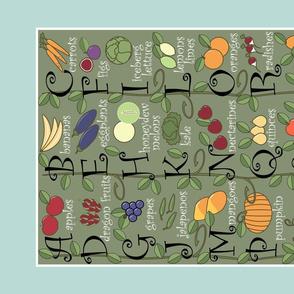 ABCs Fruits and Veggies