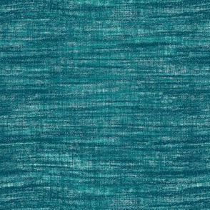 Linen texture- teal turquoise (small)