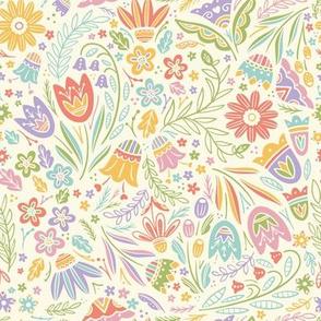 Pretty Pastel Floral