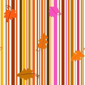Leaves and Stripes