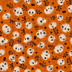 Halloween - Ashes to Ashes- Pumpkin Orange