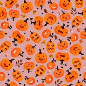 Halloween - Pumpkin Toss-Pinkurple
