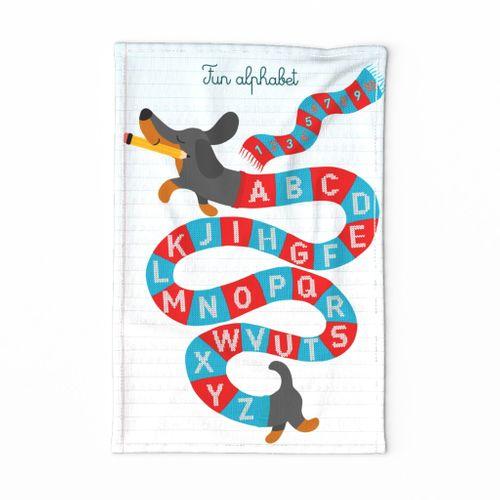 Fun dog alphabet